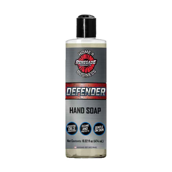Renegade Products Defender Antiseptic Hand Washing Soap