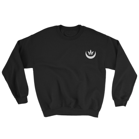 Midnight Toke Embroidered Sweatshirt