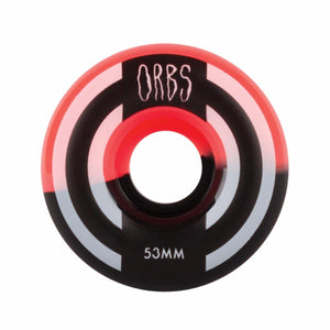 Welcome Orbs Apparitions Skateboard Wheels 53mm 99A Coral/Black