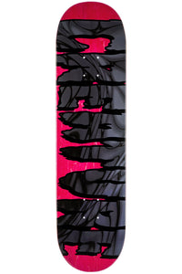 "Creature Logo Psych LG HRM Deck 8.375"" Red/Black w/Free MOB Griptape - Feet First NJ"