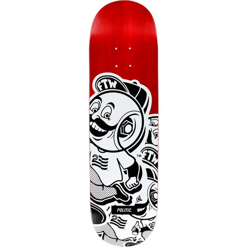 POLITIC Wheelhead Stacked Deck - 8.25