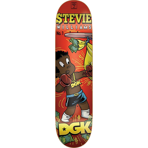DGK Stevie Williams From Nothing Deck 7.8