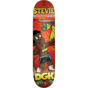 "DGK Stevie Williams From Nothing Deck 7.8"" w/Free MOB Griptape"