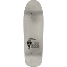 "Load image into Gallery viewer, ZERO THOMAS LIBERTY OR DEATH DECK - 9.5"" x 31.7"" Black/Silver w/Free MOB Griptape - Feet First NJ"
