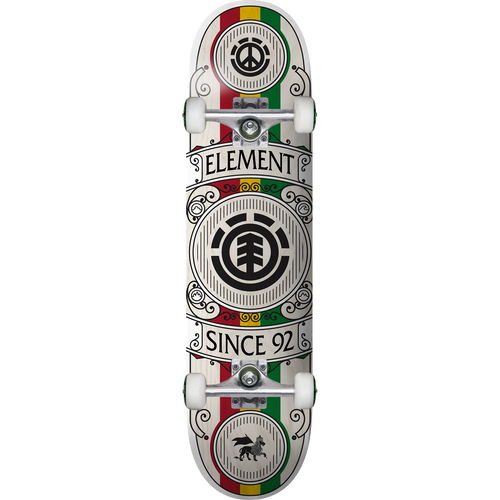 Element Regal Rasta Complete Skateboard 8.0