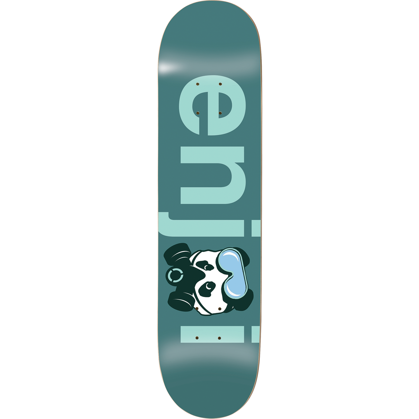 Enjoi No Brainer Gas Mask Deck 8.125