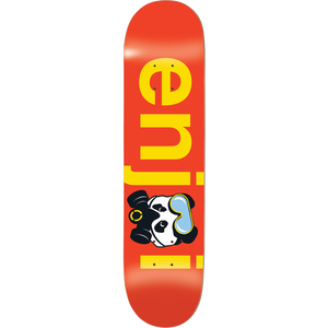 "Enjoi No Brainer Gas Mask Deck 8.5"" x 32.3"" Red w/Free Mob Griptape - Feet First NJ"