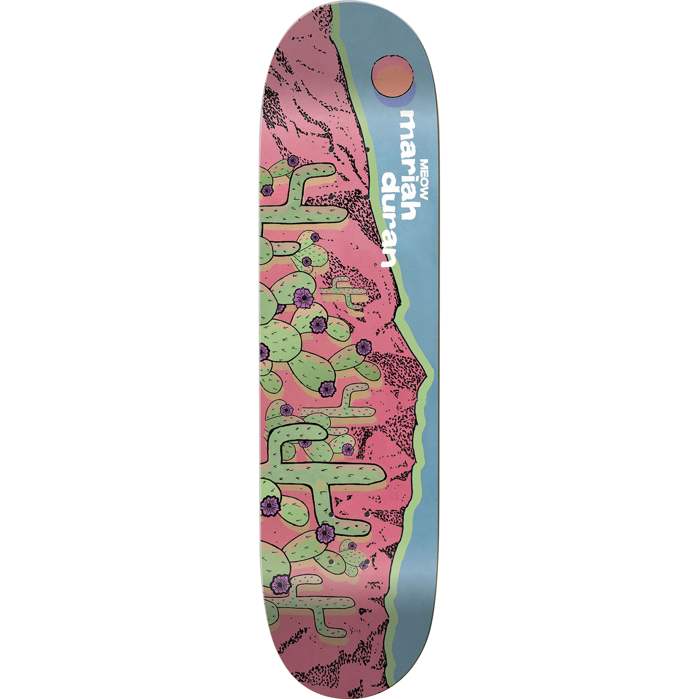 Meow Skateboards Maria Duran Sandias Pro Model Deck 7.75