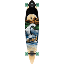 "Load image into Gallery viewer, Sector 9 ""Moonlight Maverick"" Bamboo Complete Longboard 9.75"" x 44"" - Feet First NJ"