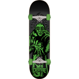 "Creature Vampire Complete Skateboard 7.25"" Black/Grey/ Green"