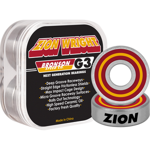 Bronson G3 Zion Wright Bearings (Set of 8)