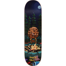 "Load image into Gallery viewer, Santa Cruz ""Cookie Campout"" Everslick Skateboard Deck 8.0"" w/Free MOB Griptape"