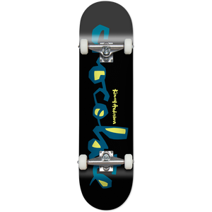 Chocolate Kenny Anderson Original Chunk Complete Skateboard