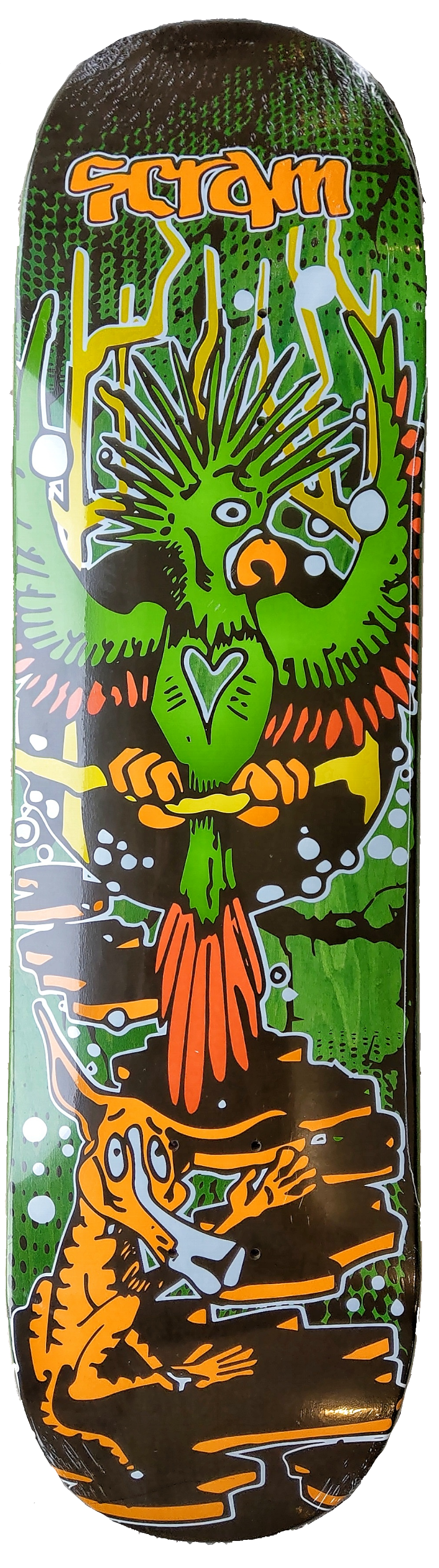 Scram Bird Skateboard Deck 8.25