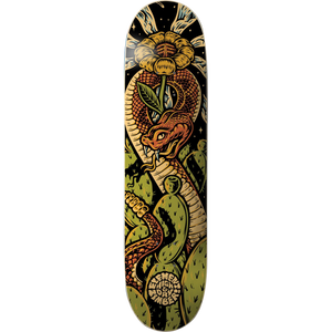 "Element x Real ""Timber High N Dry Snake"" Skateboard Deck 8.5"" w/Free MOB Griptape - Feet First NJ"
