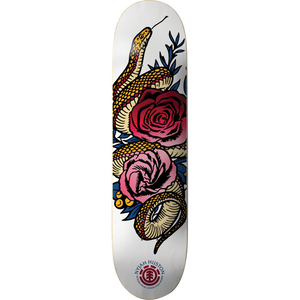 "Element Nyjah Huston ""Be Mine"" BBS Skateboard Deck 8.38"" w/Free MOB Griptape"