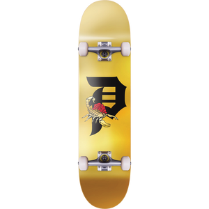 "Primitive Dirty P ""Scorpion"" Complete Skateboard 8.0"" Gold - Feet First NJ"