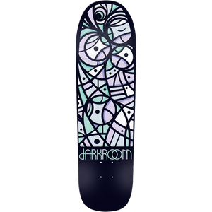 "Darkroom ""Fractal"" Skateboard Deck 8.62"" w/Free MOB Griptape - Feet First NJ"