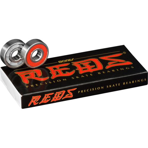 Bones Reds Precision Skate Bearings 8 Pack - Feet First NJ