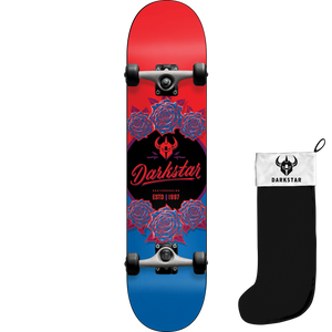 "Darkstar Limited Edition In-Bloom Complete Skateboard 8.0"" w/Stocking"
