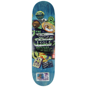 "Anti Hero Cardiel Park ""THE WORM HOLE"" Skatepark Deck 8.5"" w/Free MOB Griptape - Feet First NJ"