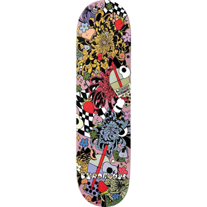 "Birdhouse Lizzie Armanto ""Strawberry"" Skateboard Deck 8.0"" w/Free MOB Griptape - Feet First NJ"