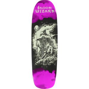 "Blood Wizard ""Occult"" Skateboard Deck 8.88"" w/Free MOB Griptape"