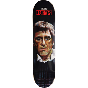 "Deathwish Jake Hayes ""The World Is Yours"" Al Pacino Scarface Skateboard Deck 8.0"""