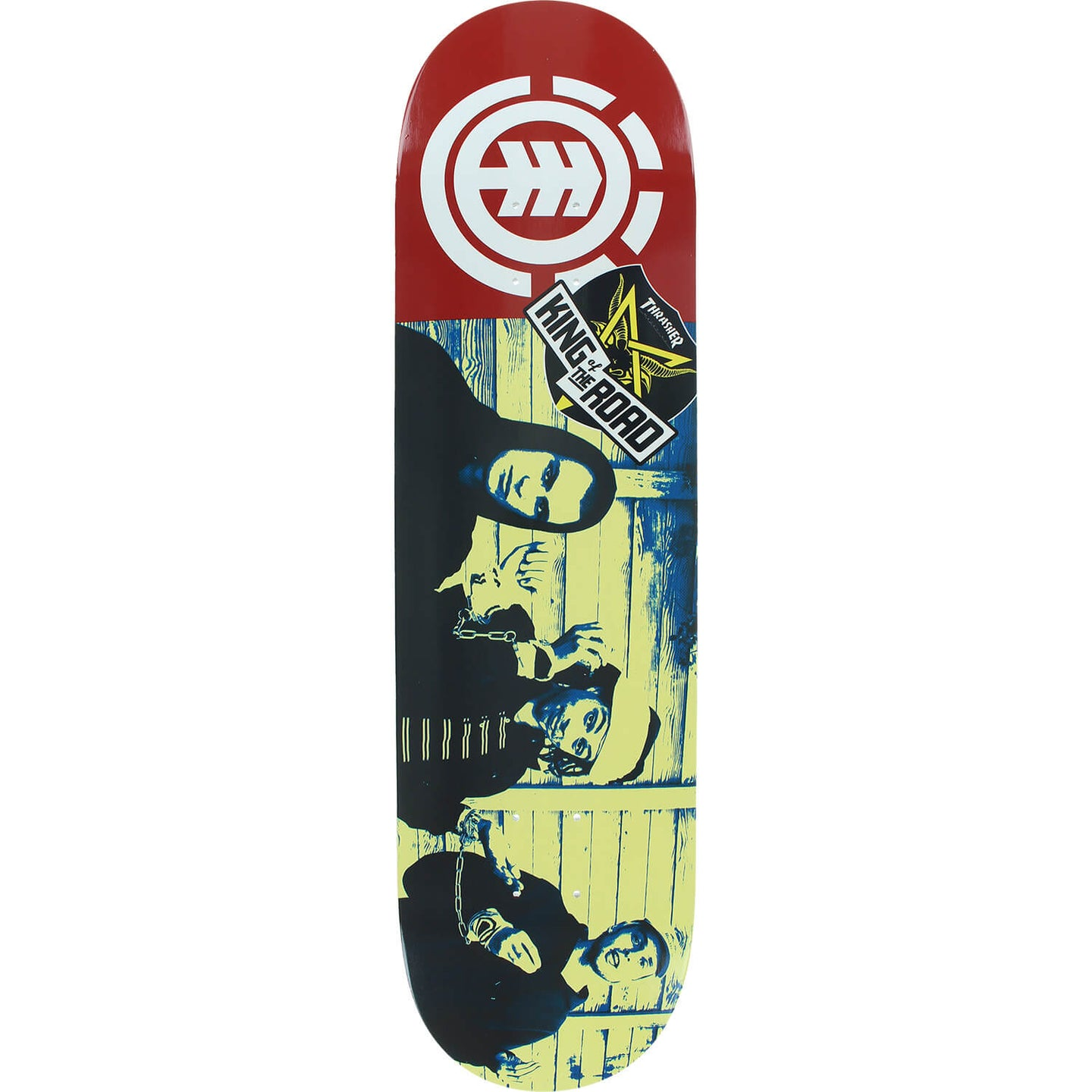 Element Skateboards King of the Road Chain Gang Skateboard Deck 8.2