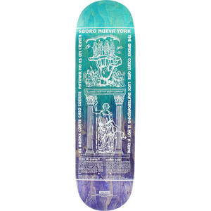 "5Boro ""Lucky Candle Bronx"" Deck 8.5"" w/Free MOB Griptape"