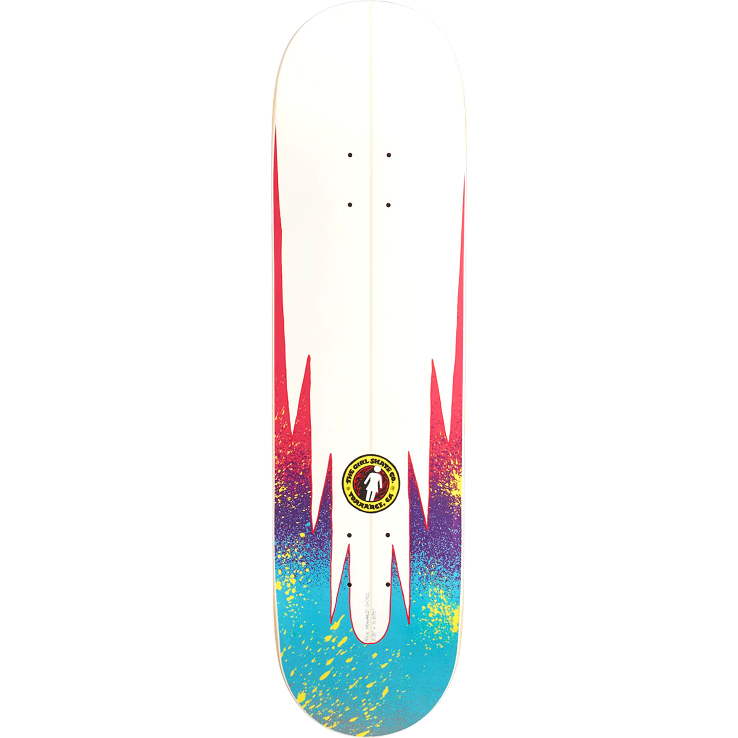 Girl Rick Howard GSSC Series Slick Skateboard Deck 8.25