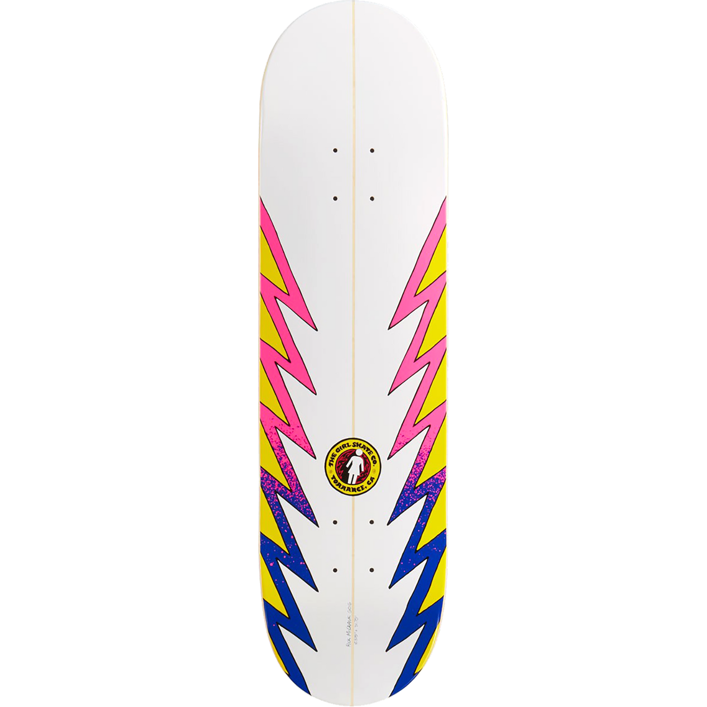 Girl Rick McCrank GSSC Series Skateboard Deck 8.37