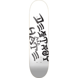 "Heart Supply Limited Edition ""Destroy All Hate"" Skateboard Deck 8.0"" w/Free MOB Griptape"