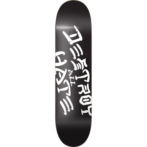 "Heart Supply Limited Edition ""Destroy All Hate"" Skateboard Deck 8.25"" w/Free MOB Griptape"