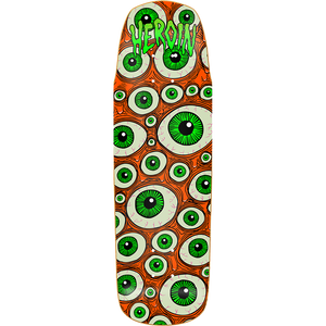 "Heroin ""Street Baller"" Skateboard Deck 9.75"" Glow in the Dark w/Free Griptape"