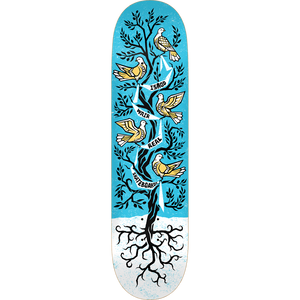 "Real Ishod Wair Peace Tree R1 Skateboard Deck 8.38"" w/Free Mob Griptape"