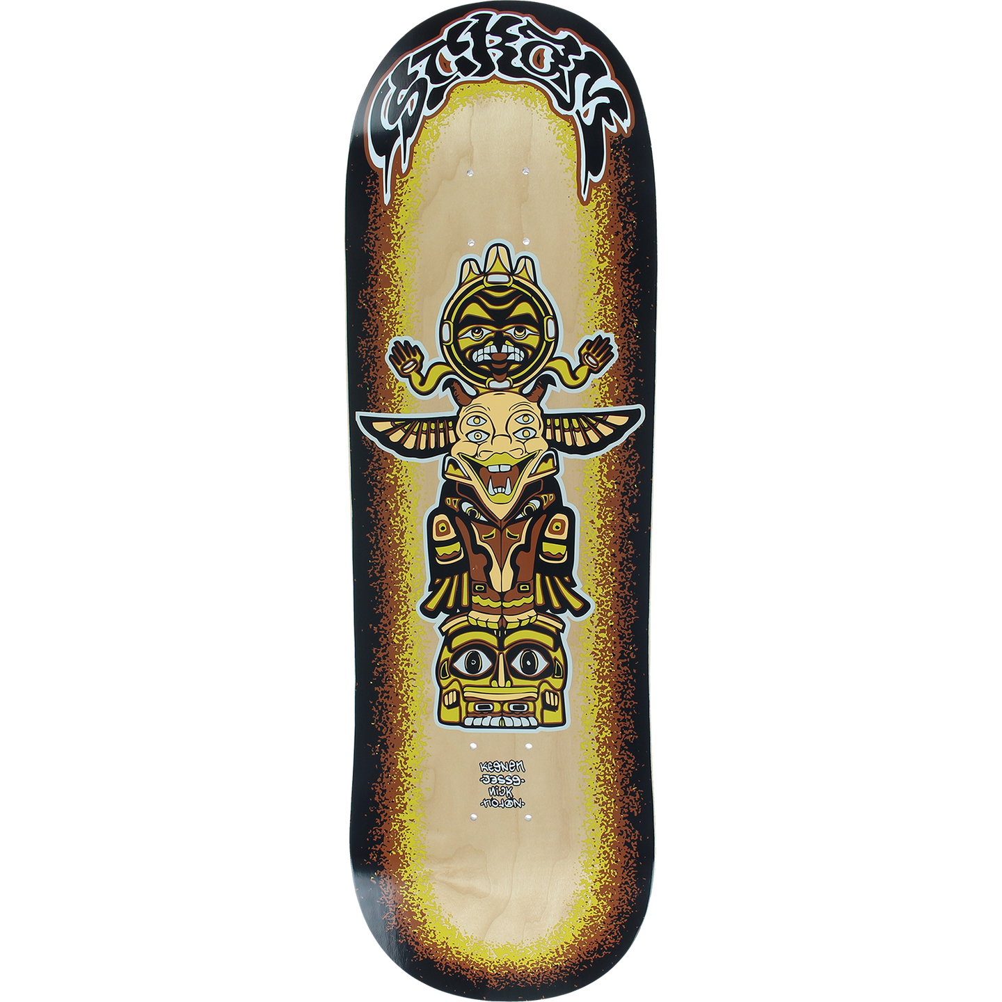 Scram Flux Skateboard Deck 9.5