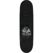 Load image into Gallery viewer, TECHNE YAMA SKATEBOARD DECK -8.6 BLACK/METALLIC ROSE GOLD DECK - Feet First NJ