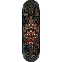Load image into Gallery viewer, TECHNE YAMA SKATEBOARD DECK -8.6 BLACK/METALLIC ROSE GOLD DECK