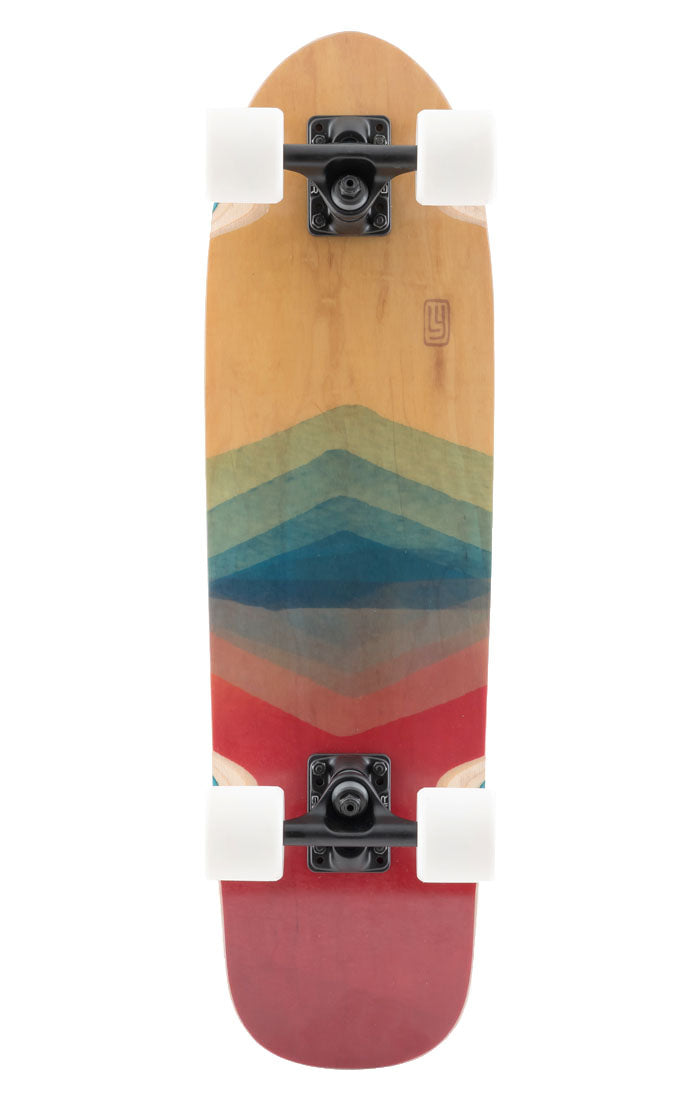 Landyachtz Dinghy FG Watercolor Complete Longboard 8