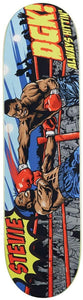 "DGK Stevie Williams ""Knockout"" Skateboard Deck 8.10"" w/Free MOB Griptape"