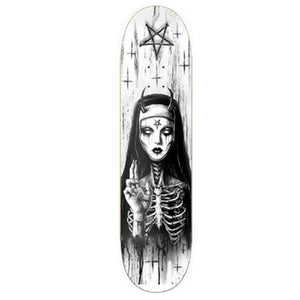 "Godless Limited Edition ""Art Collab Deck 3"" 8.25"" w/Free MOB Griptape"
