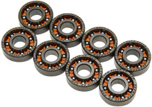 Load image into Gallery viewer, Bronson Speed Co. Raw Shieldless Bearings 8 pack