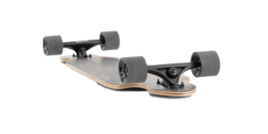 "Landyachtz ""Battle Axe"" Black Space Rock Complete Cruiser Skateboard"