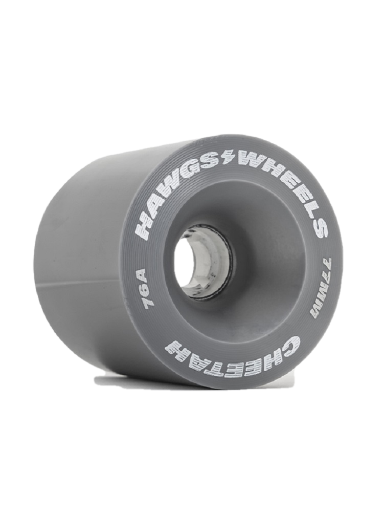 Hawgs Cheetah LongBoard Wheels 77mm 76a (Set of 4)