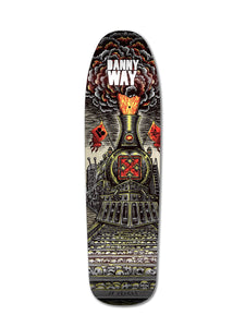 "H-Street Danny Way ""Heavy Metal Train"" Deck 32.3"" x 9"" w/Free MOB Griptape - Feet First NJ"