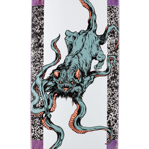 "Welcome ""Bactocat on Wormtail"" PS Stix Skateboard Deck w/Free MOB Griptape"