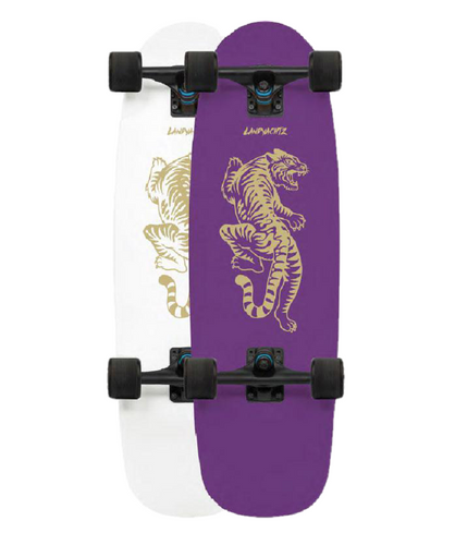 Landyachtz Tugboat UV Color Changing Bengal Cruiser Skateboard 9