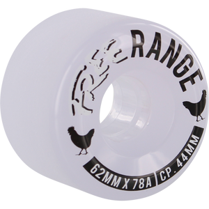 Free Wheel Co. Free Range 62mm 78A Clear/White/Black 4 Pack - Feet First NJ