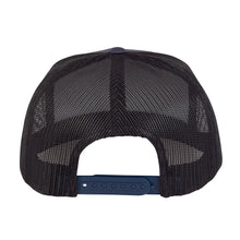 Load image into Gallery viewer, Independent Truck Co. Baseplate Snapback Mesh Trucker Hat Navy/Silver OS - Feet First NJ